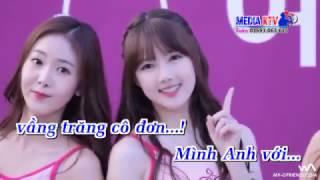 Vầng Trăng Cô Đơn Remix(Karaoke HD-Trương Khả Minh full Beat