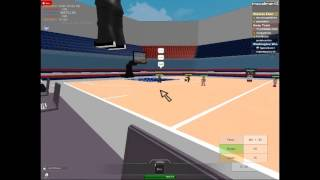 NYK (New York Knicks) vs WW (Washington Wizards) 4. QUARTER Finalisten - ROBLOX