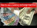 Currency Exchange Machine in Baku | How to use a currency exchange machine? | Baku Diaries