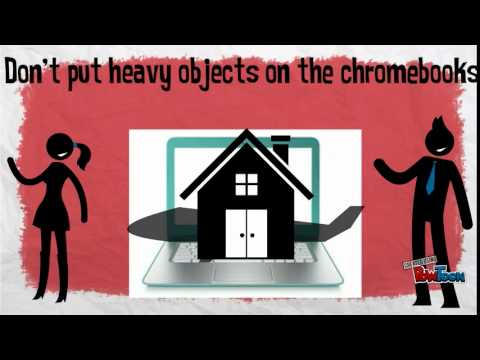 Chromebook Care for Lingle Middle School
