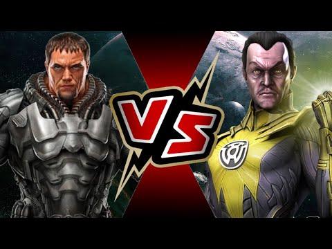 Sinestro VS General Zod | BATTLE ARENA
