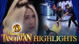 Tawag ng Tanghalan: Vhong and Jhong play with Vice on the TNT stage