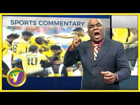 Reggae Boyz   TVJ Sports Commentary - Oct 7 2021