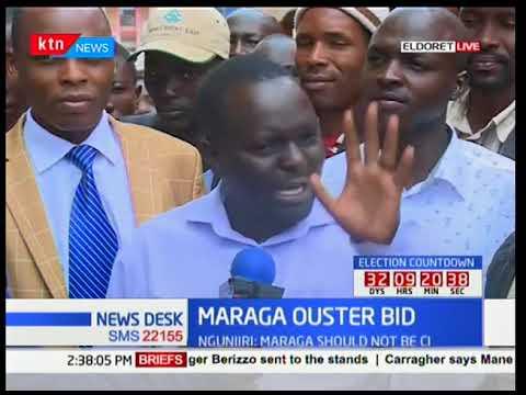 Eldoret residents react to Ngunjuri