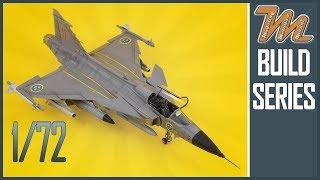 Saab Jas-39 Gripen ep.5 - 1/72 - Italeri schaal model te bouwen serie