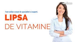 CaliVita: Test online Lipsa de Vitamine si Minerale