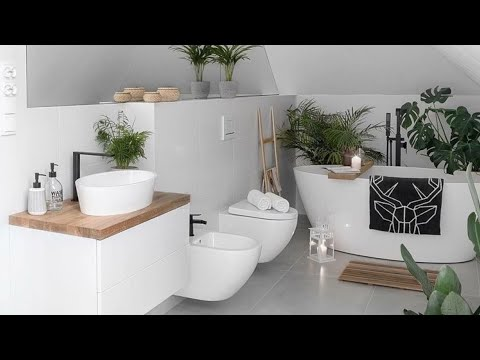 Beautiful modern bathroom decor to upgrade