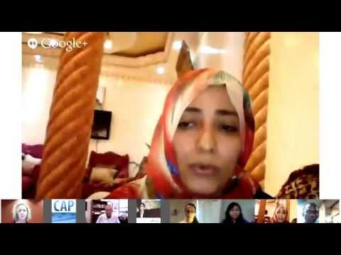 Youth and the Post 2015 Development Agenda with John Podesta and Tawakkol Karman