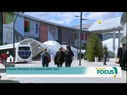Polish pavilion has presented blue coal at Astana EXPO 2017