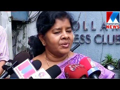 Kollam rape; J. Mercykutty Amma greets victim