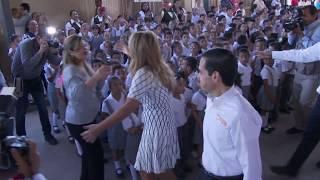 Entrega Gobernadora obra en primaria Bernardo Rivera en Hermosillo