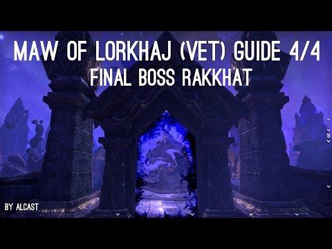 Maw of Lorkhaj vet Guide 4/4 - 3rd Boss Rakkhat - Elder Scrolls Online ESO