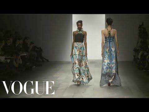 Holly Fulton Ready to Wear Fall 2011 Vogue Fashion Week Runway Show