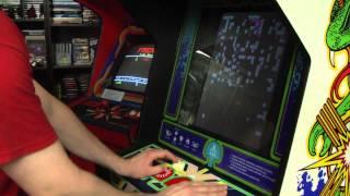 Classic Game Room - CENTIPEDE Arcade Machine review