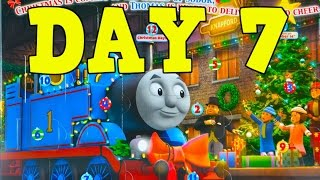 2014 Thomas Countdown To Christmas Advent Calendar Day 7 Wooden Railway