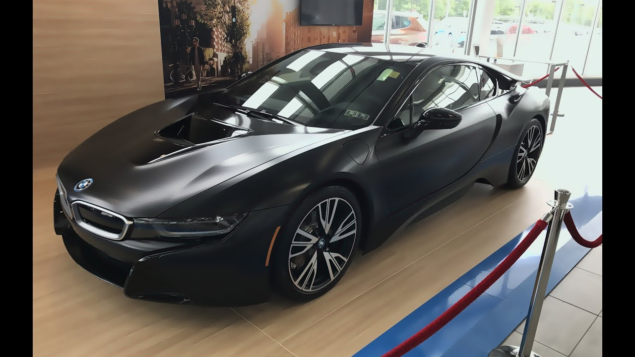 I Sat In A 155k Bmw I8 Protonic Frozen Black Edition Youtube