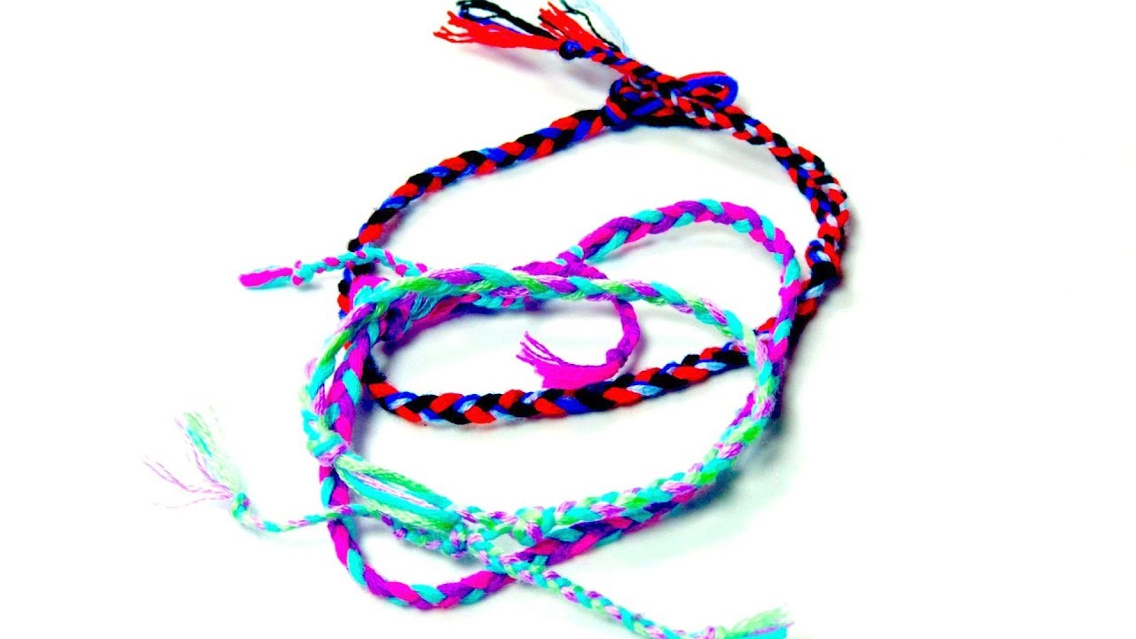 Simple Braided Friendship Bracelet