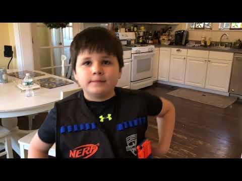 Weekend Fun Nerf Elite Hyper Fire Blaster Timed Shooting Challenge