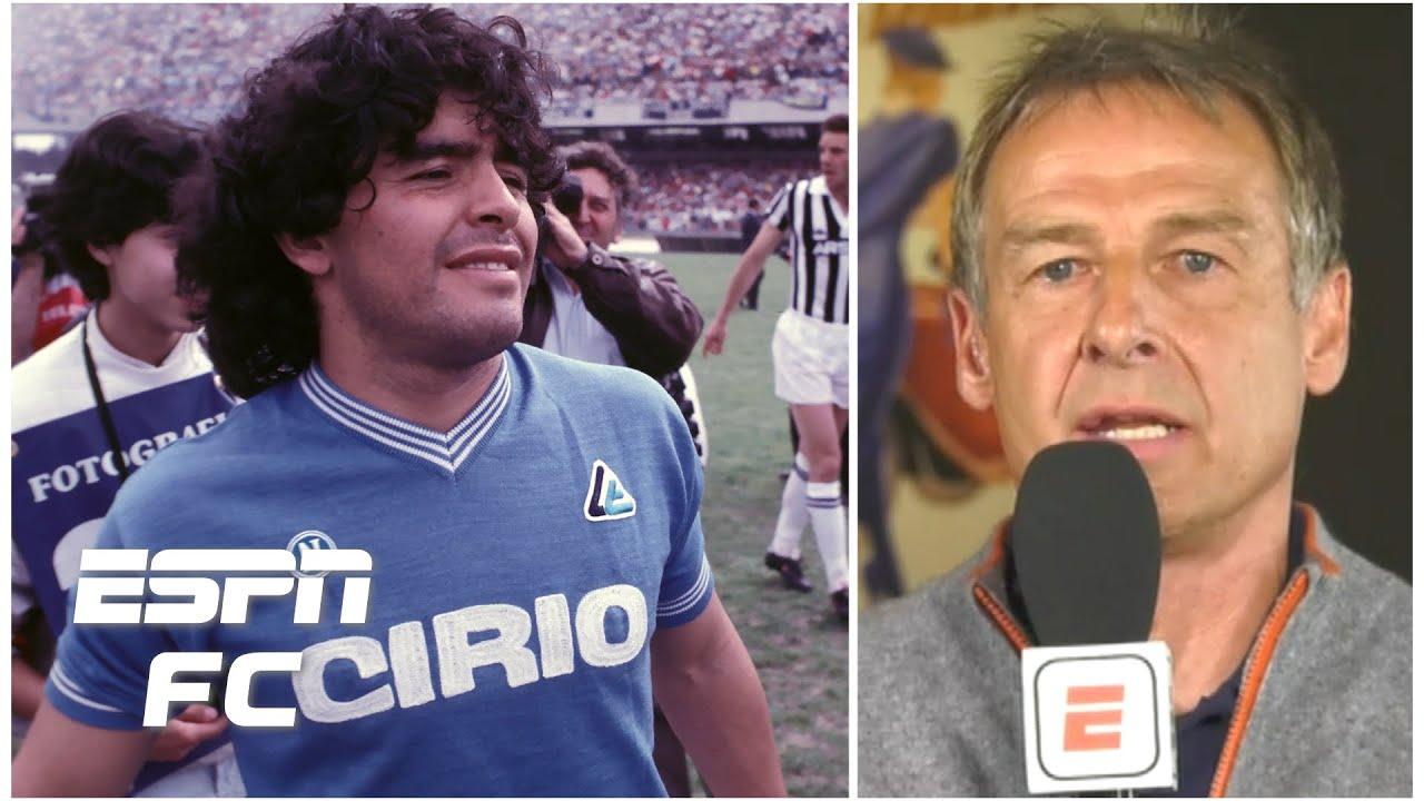 Facing Diego Maradona was like getting lessons from a master artist - Jurgen Klinsmann | ESPN FC