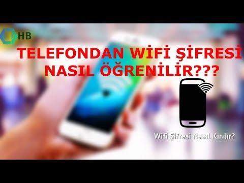 Telefondan Wifi şifresi öğrenme