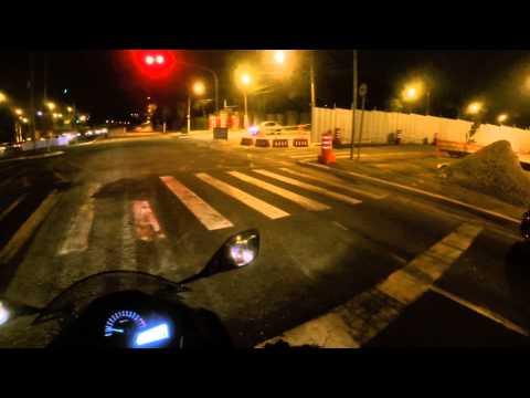 Andre88MV - Ninja 300 - Rolezinho de noite #2