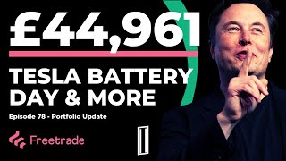 EP78: Tesla Battery Day, Sold Stock & 1 Dividend Payment