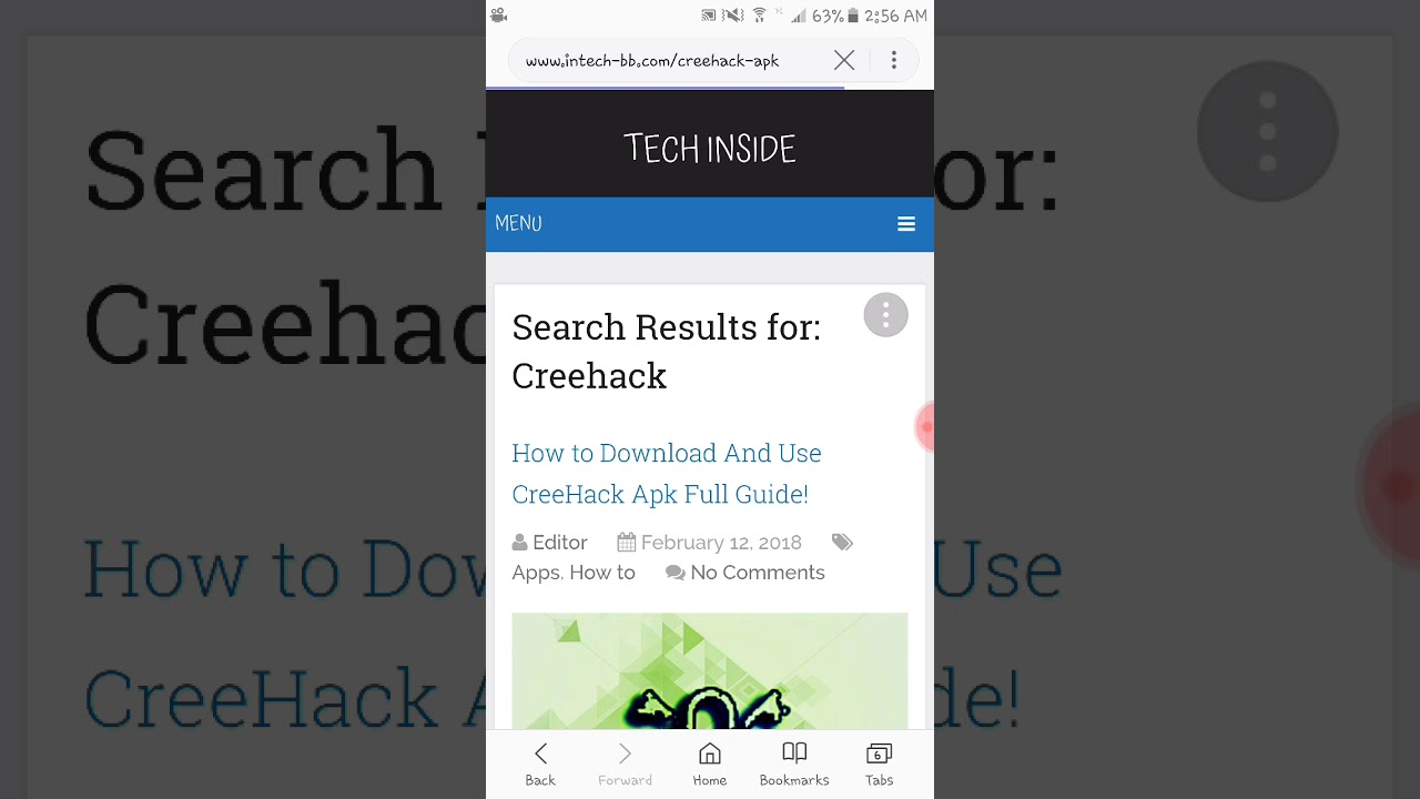 How to Download And Use CreeHack Apk Full Guide !