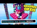 EXTREME WASSERMELONEN EISCREME | LUCKY BLOCKS TOWER