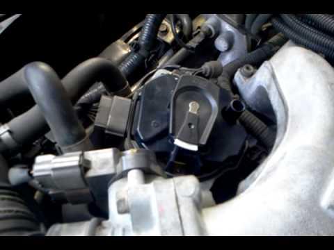Cambio de bobina nissan pathfinder 2003 - YouTube