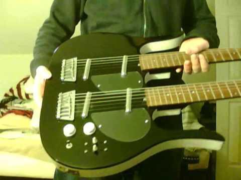 JERRY JONES Neptune Longhorn DoubleNeck Guitar (Baritone/Bass VI) danelectro fender wilco nels cline