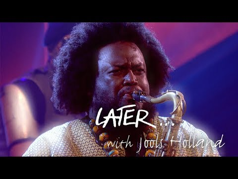 Jazz king Kamasi Washington performs Fists...