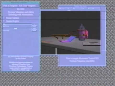 Ancient Real Time Computer Graphics Demonstrations