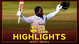 Magnificent Mayers 210* in Stunning Win! | Bangladesh v West Indies Day 5 1st Test - Highlights
