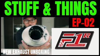 NEW EXHAUST | AFRICATWIN | Stuff & things ep 02 | FUEL EXHAUST