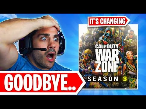 Warzone is COMPLETELY Changing FOREVER! 😱