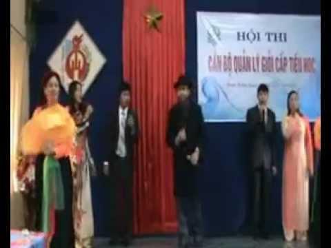 Màn chào hỏi miền 1 - Hội thi CBQL giỏi huyện Trực Ninh