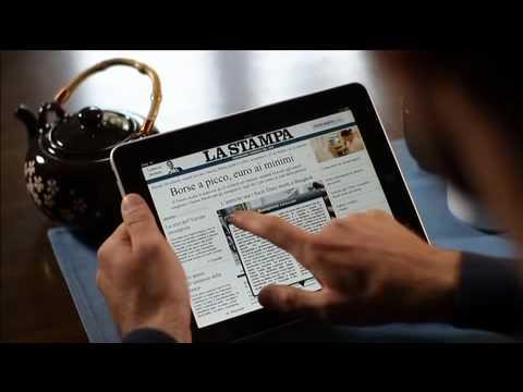 La Stampa iPad, ferma il tempo e leggi il mondo