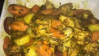 Roasted | Chicken & Vegetables