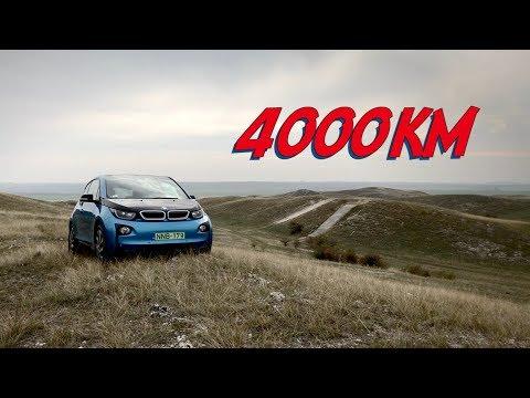 4000 km a BMW i3-mal