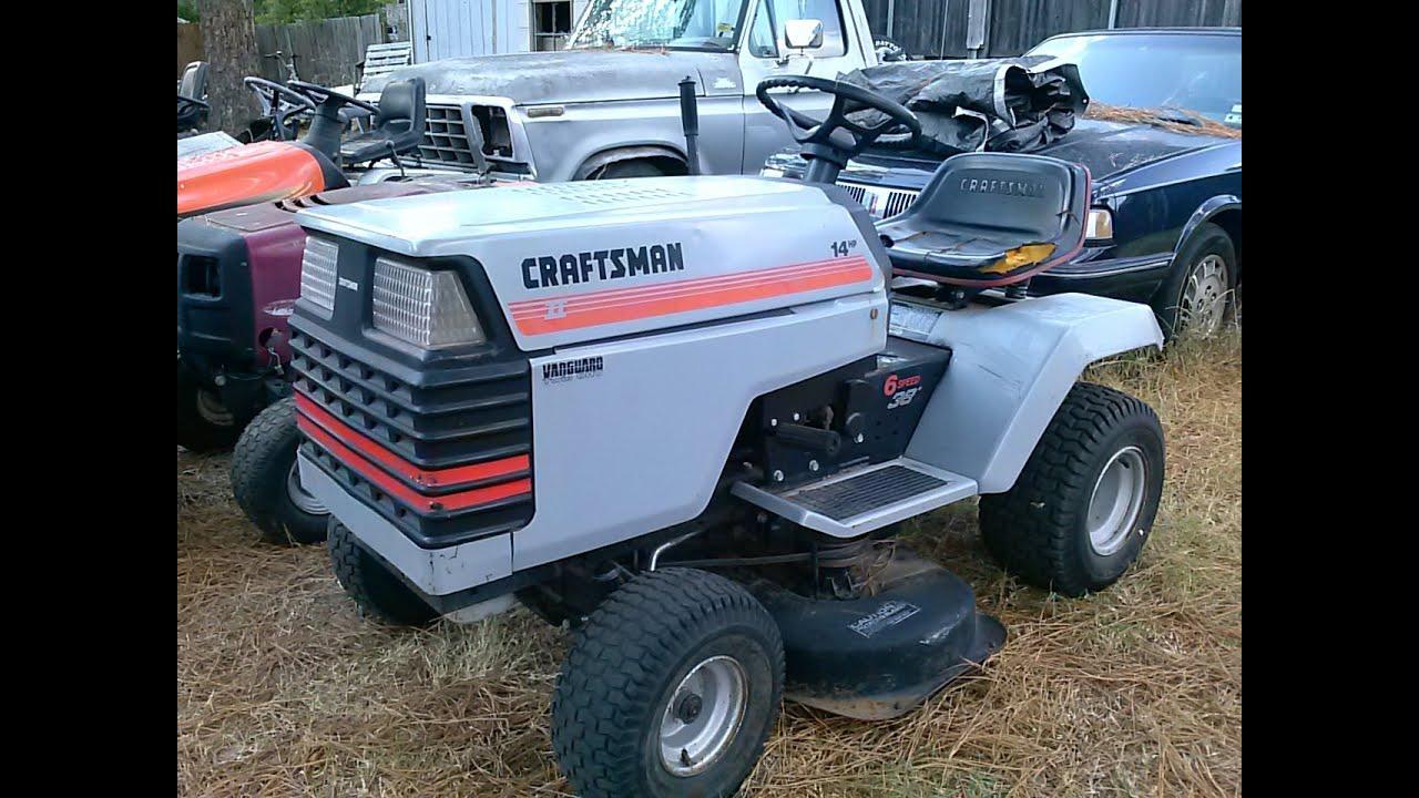 Craftsman 2 Riding Mower : Craftsman steering gear replacement part youtube