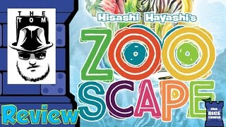 Zooscape Review - with Tom Vasel