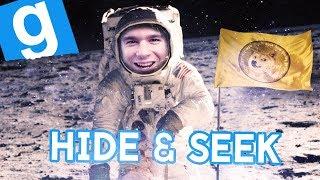 ZABAWA W CHOWANEGO NA KSIĘŻYCU! | Garry's mod (With: EKIPA) #805 - Hide & Seek [#72] (With: EKIPA)