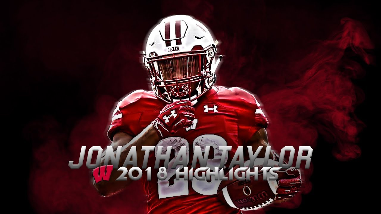 Jonathan Taylor 2018 Wisconsin Highlights - Best Running Back in College Football ᴴᴰ