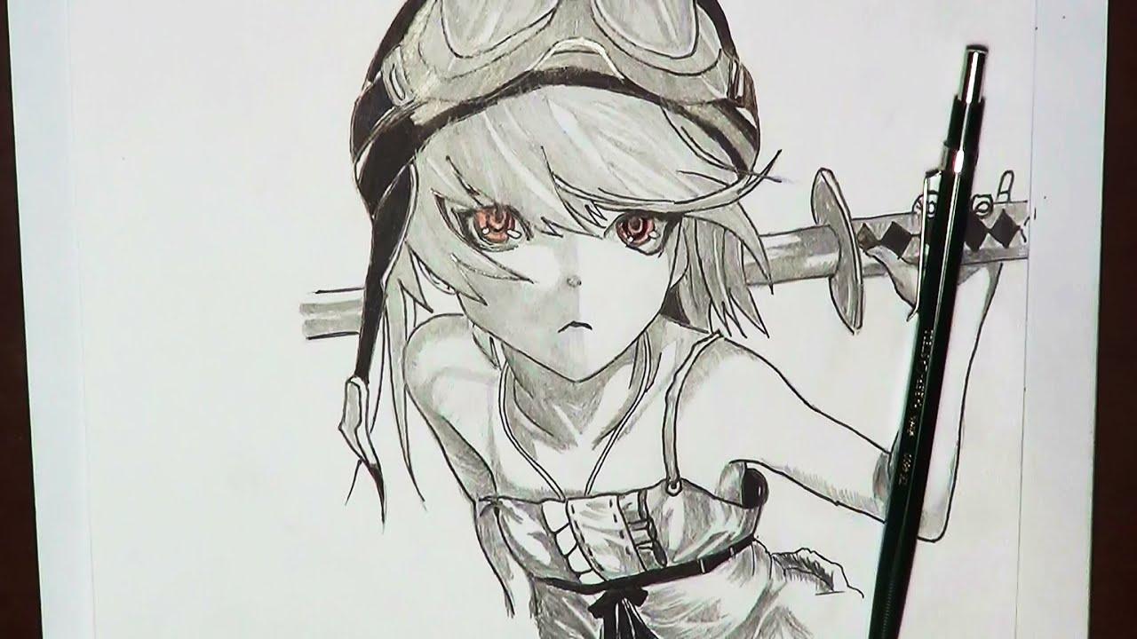 Dibujando Anime - How to draw manga - YouTube