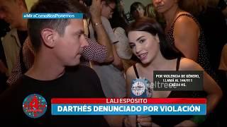 La palabra de Lali Espósito luego de que Thelma Fardín denunciara a Juan Darthés