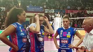 Volley Igor Novara vs Conegliano