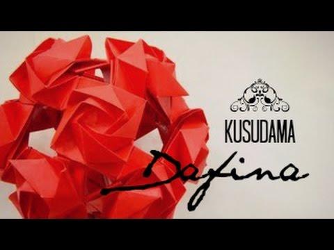 KUSUDAMA HEART - Original Kusudama Origami Gallery !- | 360x480