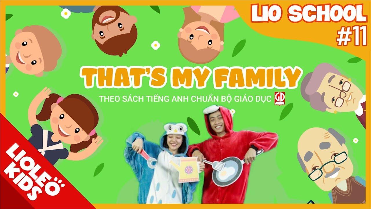 Tiếng Anh lớp 3 | Unit 11: This is my family  [Hướng dẫn học tiếng Anh lớp 3 trọn bộ 20 unit]