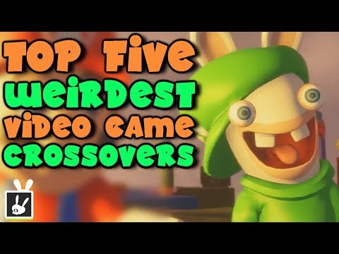 Top Five Weirdest Video Game Crossovers