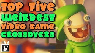 Top Five Weirdest Video Game Crossovers